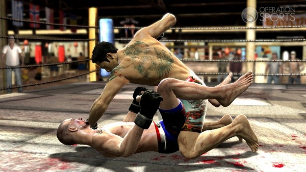 Supremacy MMA Screenshot #5 for Xbox 360
