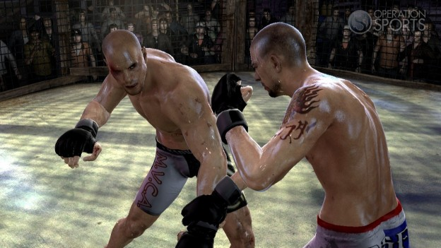Supremacy MMA Screenshot #9 for Xbox 360