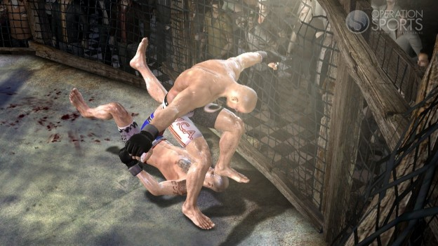 Supremacy MMA Screenshot #11 for Xbox 360