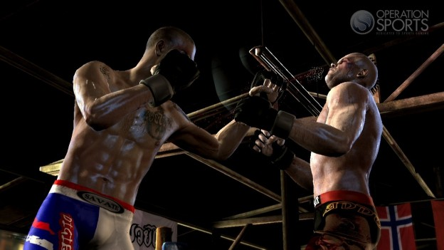 Supremacy MMA Screenshot #15 for Xbox 360