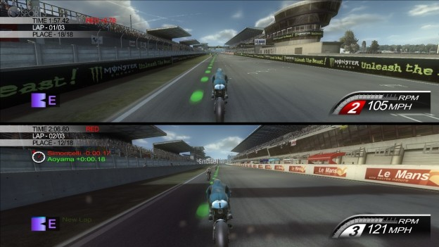 MotoGP 10/11 Screenshot #2 for PS3