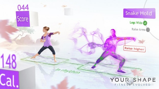 Your Shape: Fitness Evolved Screenshot #4 for Xbox 360