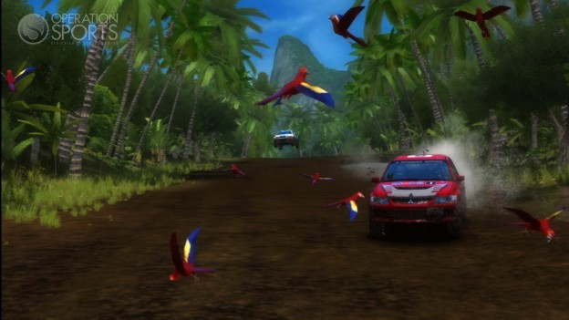 SEGA Rally Online Arcade Screenshot #1 for Xbox 360