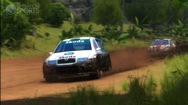 SEGA Rally Online Arcade Screenshot #2 for Xbox 360