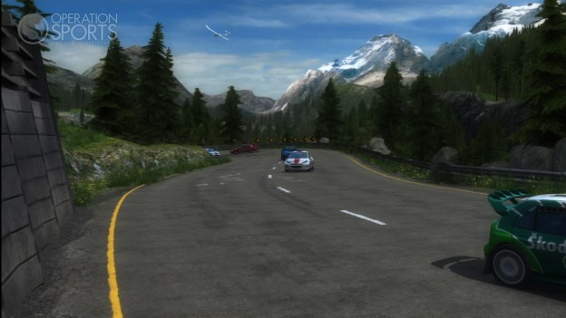SEGA Rally Online Arcade Screenshot #3 for Xbox 360