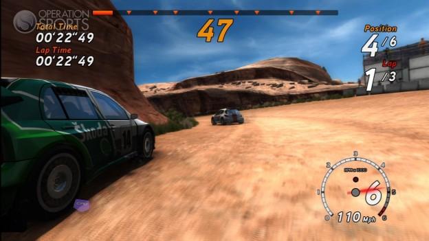 SEGA Rally Online Arcade Screenshot #5 for Xbox 360