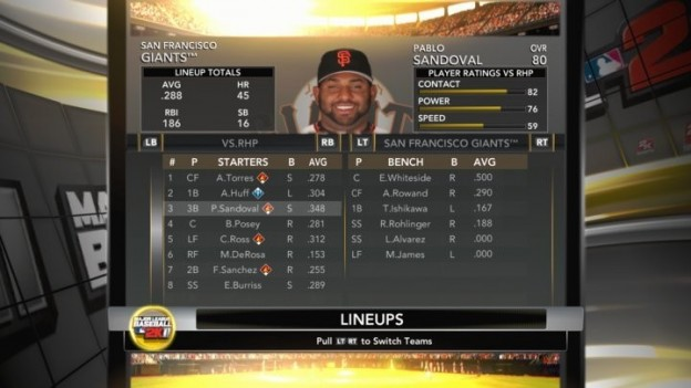Major League Baseball 2K11 Screenshot #16 for Xbox 360