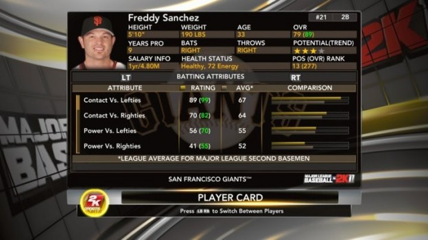 Major League Baseball 2K11 Screenshot #18 for Xbox 360