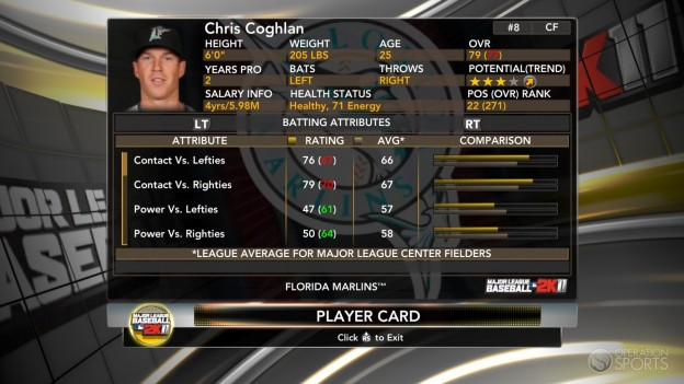 Major League Baseball 2K11 Screenshot #31 for Xbox 360