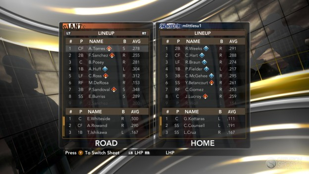 Major League Baseball 2K11 Screenshot #32 for Xbox 360