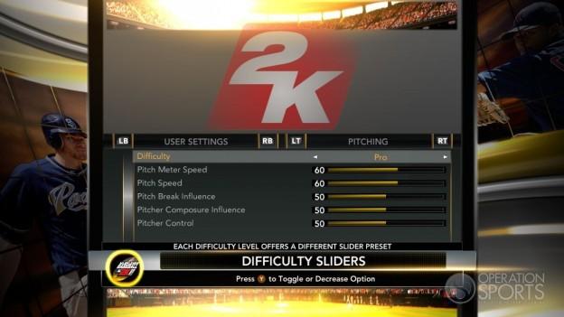 Major League Baseball 2K11 Screenshot #54 for Xbox 360