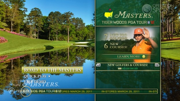 Tiger Woods PGA TOUR 12: The Masters Screenshot #83 for PS3