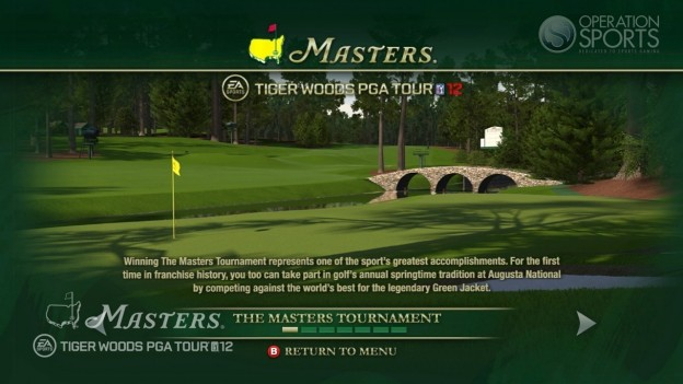 Tiger Woods PGA TOUR 12: The Masters Screenshot #102 for Xbox 360
