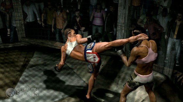 Supremacy MMA Screenshot #19 for Xbox 360