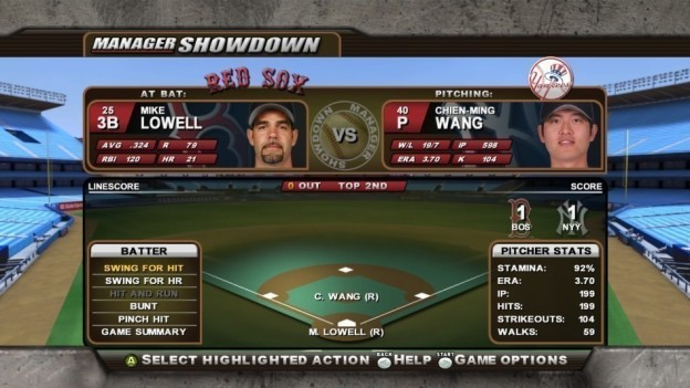 Major League Baseball 2K8 Screenshot #64 for Xbox 360
