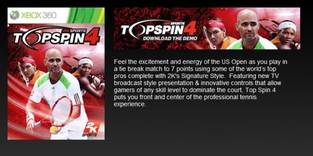 Top Spin 4 Screenshot #52 for Xbox 360