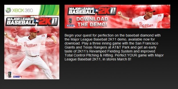Major League Baseball 2K11 Screenshot #64 for Xbox 360