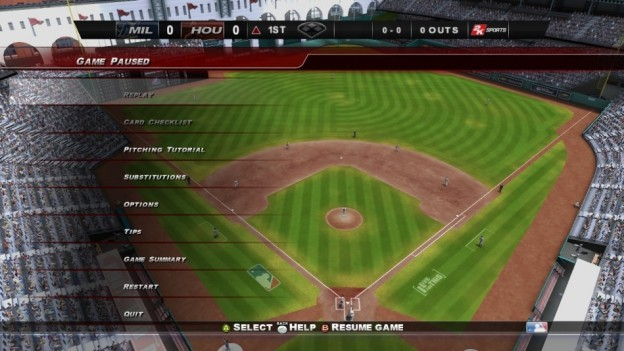 Major League Baseball 2K8 Screenshot #91 for Xbox 360