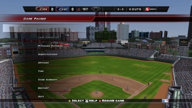 Major League Baseball 2K8 Screenshot #95 for Xbox 360