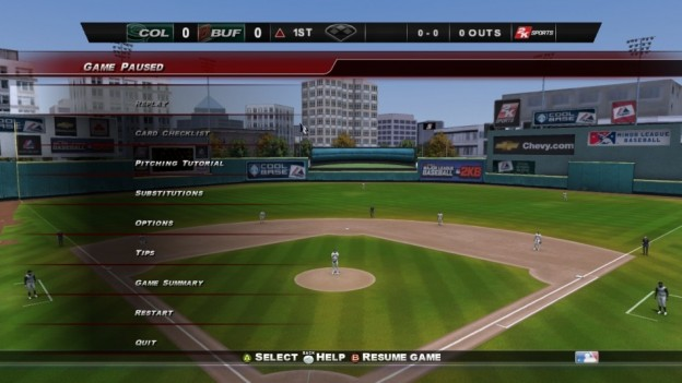 Major League Baseball 2K8 Screenshot #99 for Xbox 360