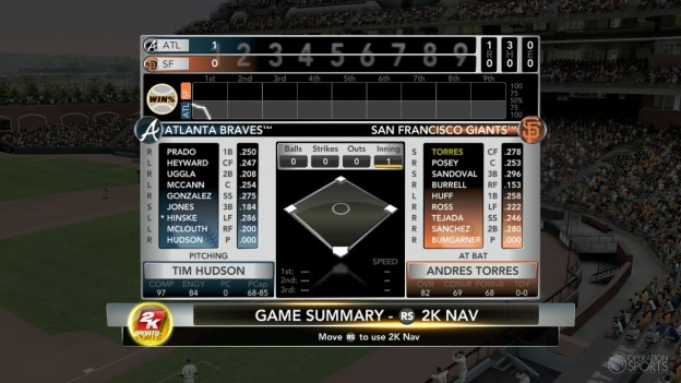 Major League Baseball 2K11 Screenshot #71 for Xbox 360