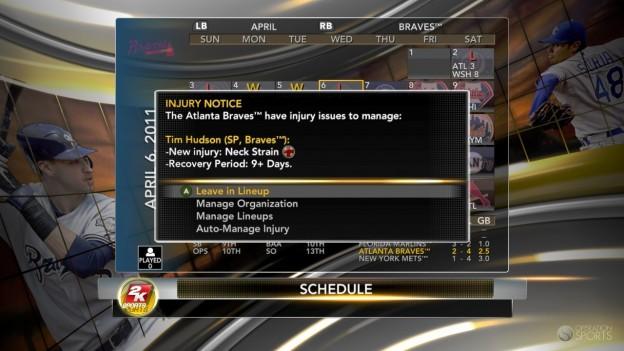 Major League Baseball 2K11 Screenshot #72 for Xbox 360