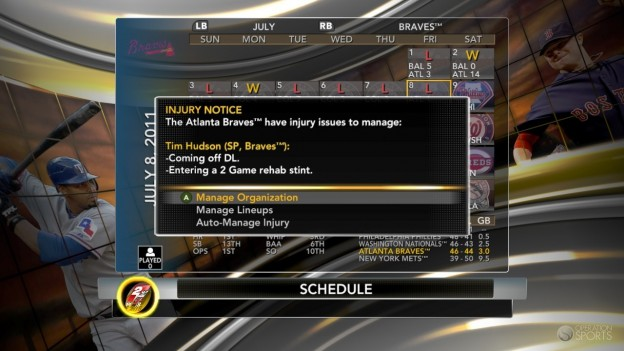 Major League Baseball 2K11 Screenshot #73 for Xbox 360
