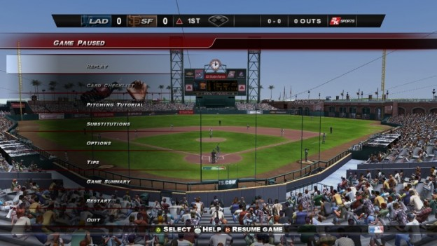 Major League Baseball 2K8 Screenshot #102 for Xbox 360
