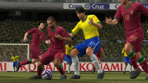 Pro Evolution Soccer 2008 Screenshot #2 for Xbox 360
