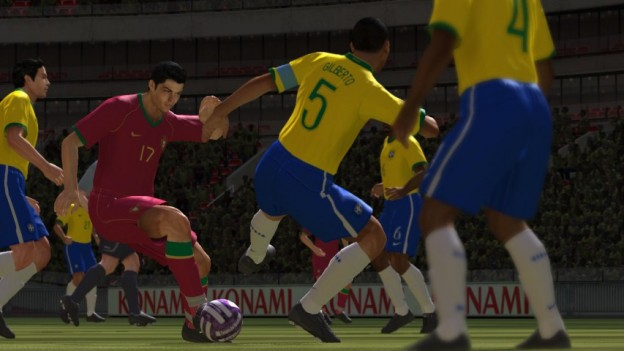 Pro Evolution Soccer 2008 Screenshot #3 for Xbox 360