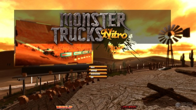 Monster Trucks Nitro Screenshot #1 for Mac