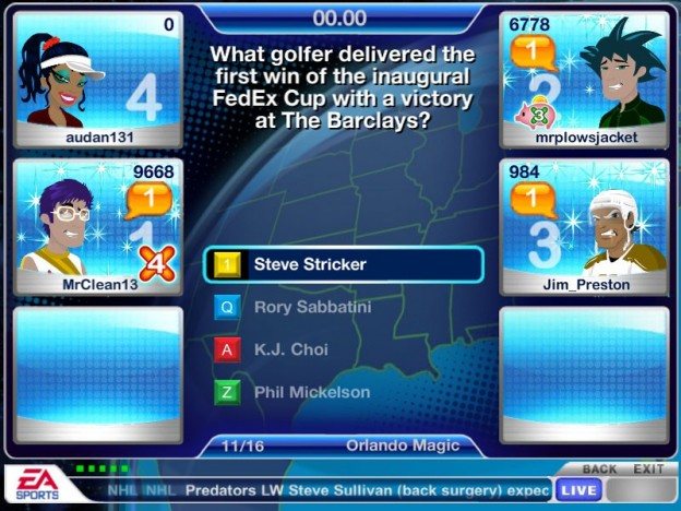 EA GameShow Screenshot #3 for PC