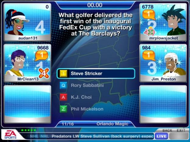 EA GameShow Screenshot #3 for PC