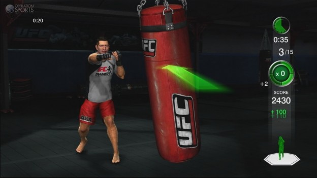 UFC Personal Trainer Screenshot #3 for Xbox 360