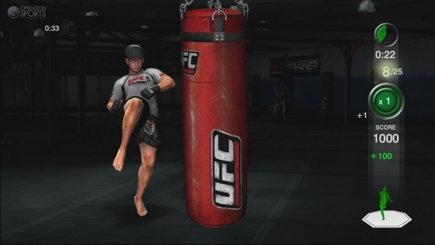 UFC Personal Trainer Screenshot #4 for Xbox 360