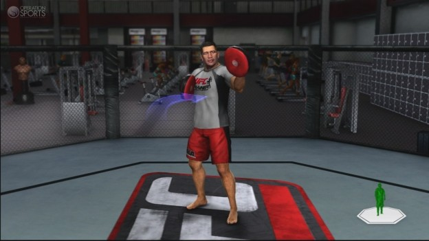 UFC Personal Trainer Screenshot #5 for Xbox 360