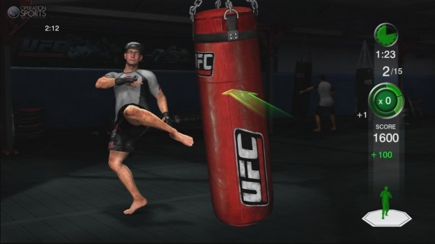 UFC Personal Trainer Screenshot #6 for Xbox 360