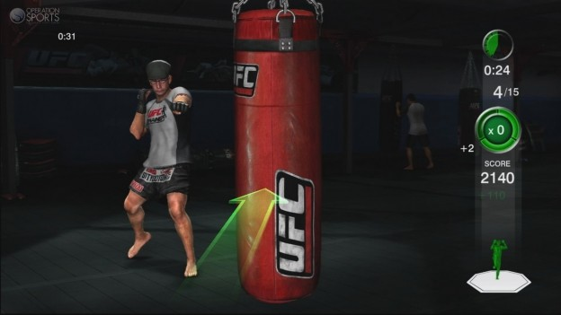 UFC Personal Trainer Screenshot #7 for Xbox 360