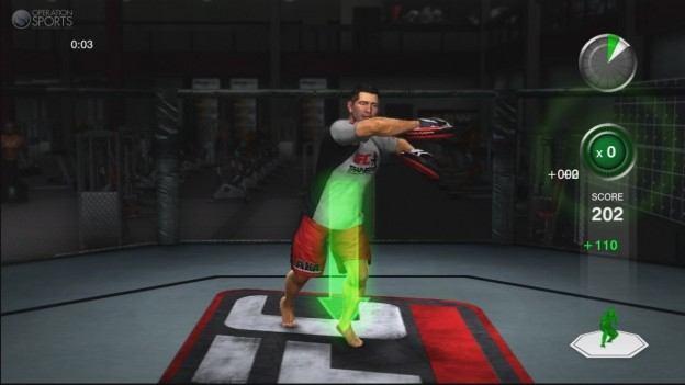 UFC Personal Trainer Screenshot #8 for Xbox 360
