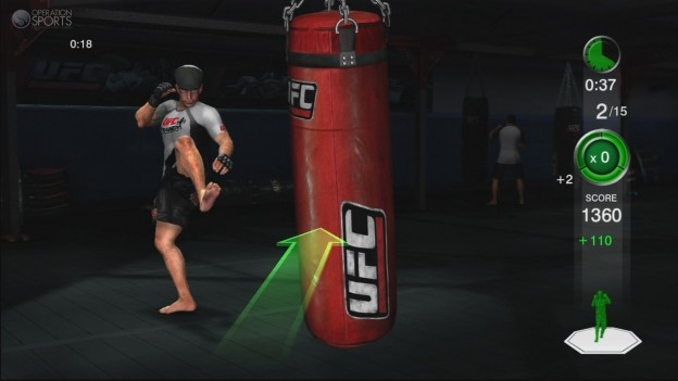 UFC Personal Trainer Screenshot #9 for Xbox 360