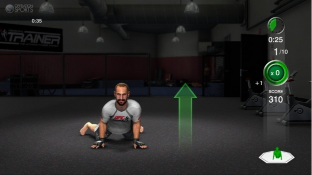 UFC Personal Trainer Screenshot #10 for Xbox 360
