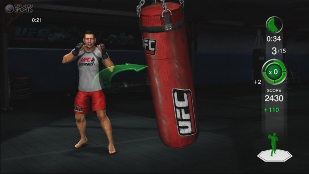 UFC Personal Trainer Screenshot #11 for Xbox 360