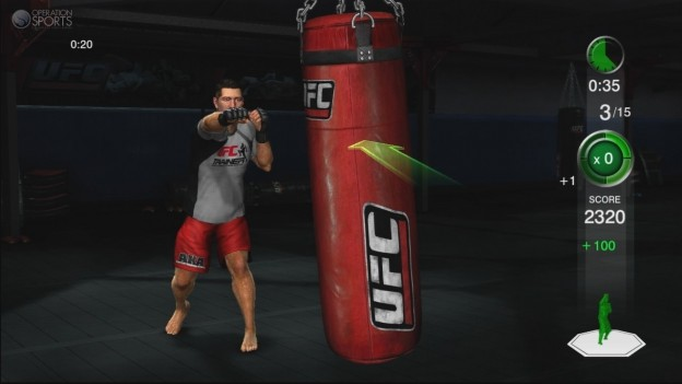 UFC Personal Trainer Screenshot #12 for Xbox 360