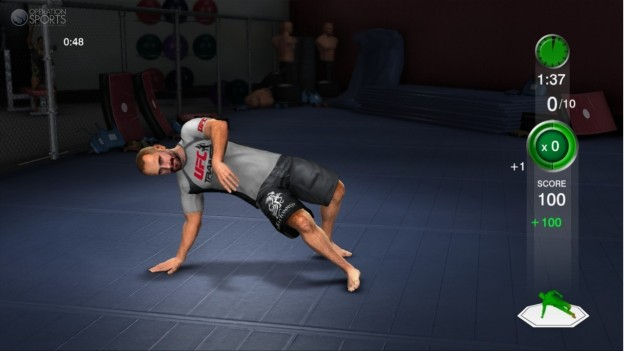 UFC Personal Trainer Screenshot #13 for Xbox 360