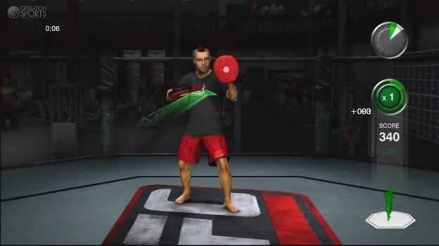 UFC Personal Trainer Screenshot #14 for Xbox 360