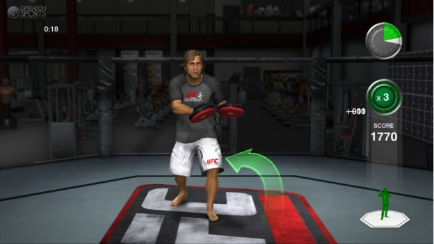 UFC Personal Trainer Screenshot #15 for Xbox 360