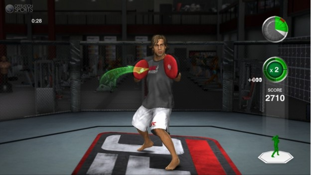 UFC Personal Trainer Screenshot #16 for Xbox 360