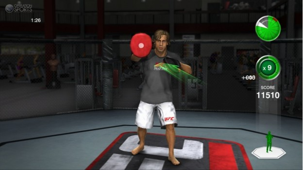 UFC Personal Trainer Screenshot #17 for Xbox 360