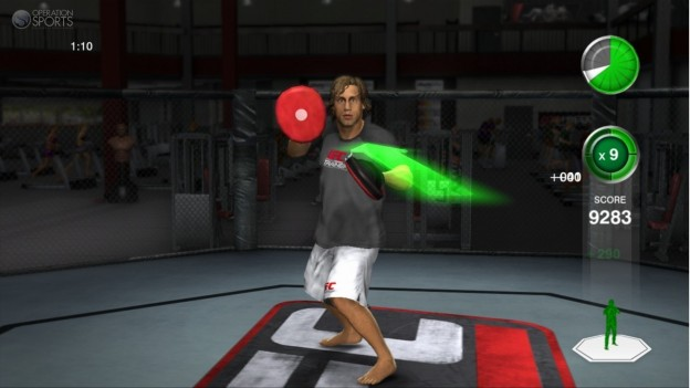 UFC Personal Trainer Screenshot #19 for Xbox 360