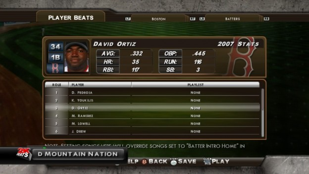 Major League Baseball 2K8 Screenshot #121 for Xbox 360